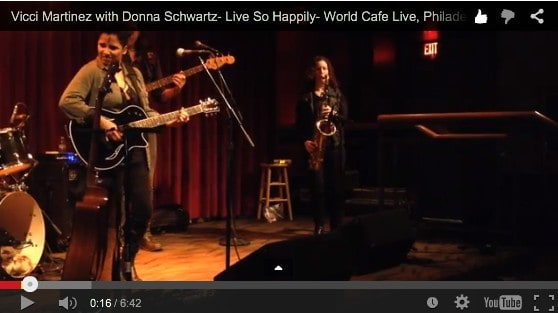 Live So Happily - World Cafe