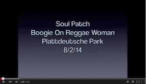 Performing Boogie On with Soul Patch