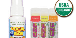 Sore throat and chapped lips no more; Two new musicians' products to solve those problems