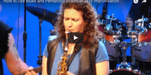 Beginner Jazz Improvisation; How to use scales in your solos