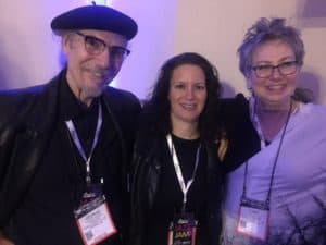 With George and Lynn Reeder after the NAMM Jam